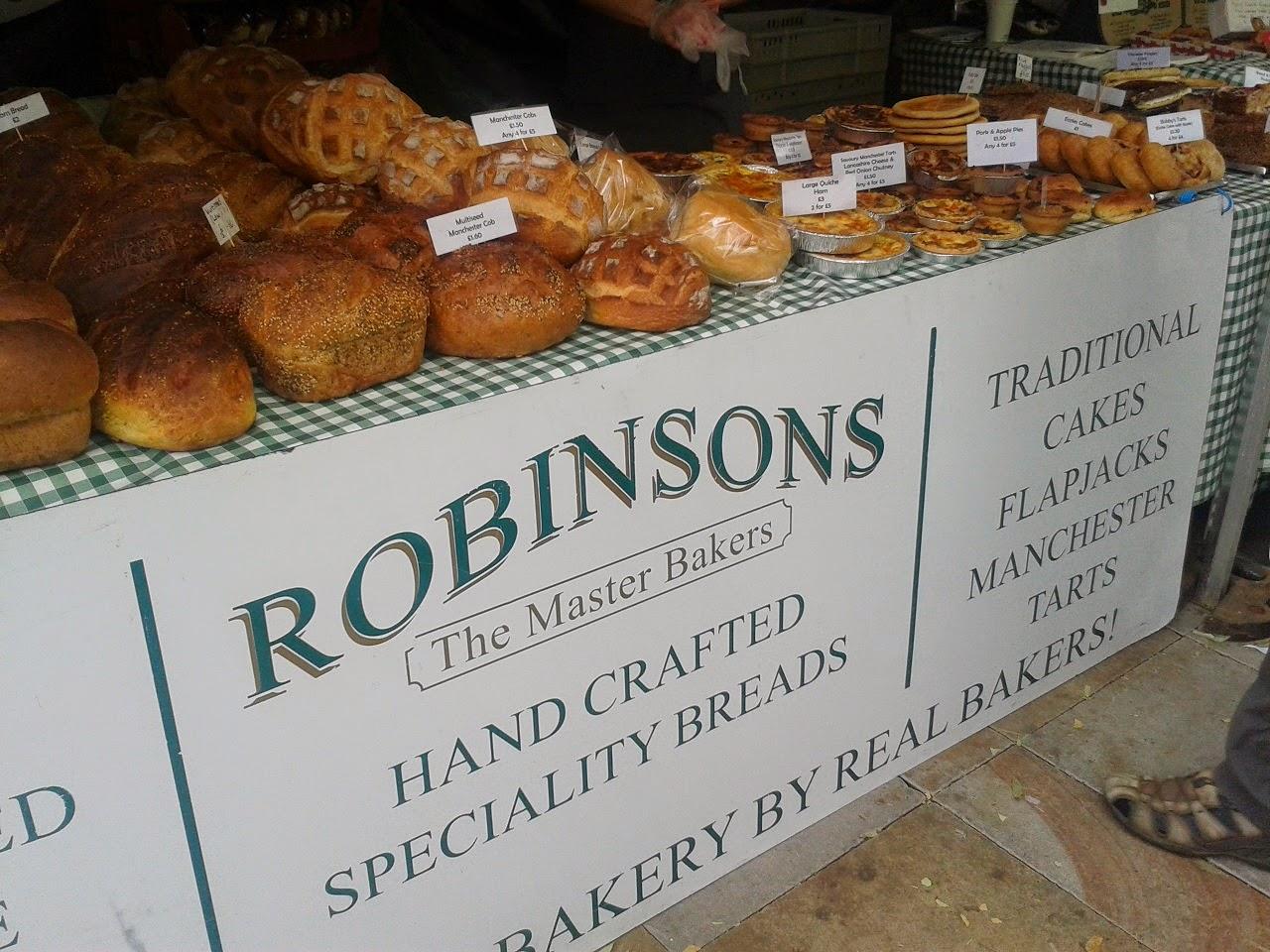 Robinsons Bakery Market Stall