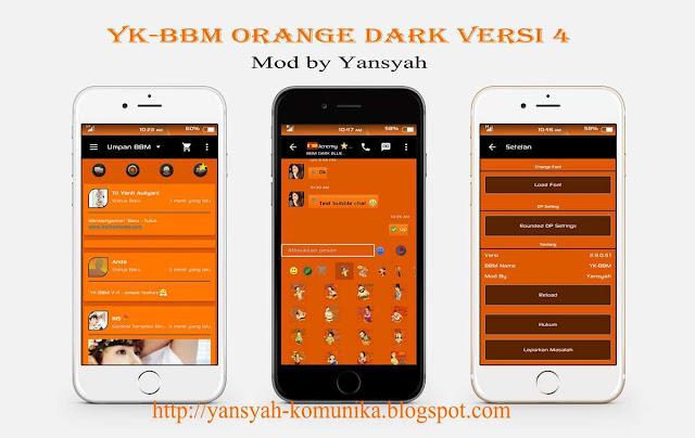 YK-BBM Orange Dark Versi 4