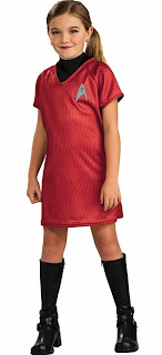 Star Trek Movie (Red) Dress Child Costume