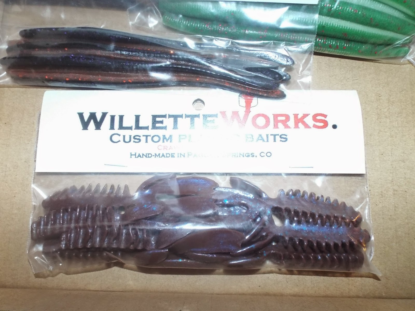 Willette Works: Bass Bait Critters