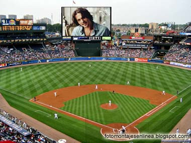 fotomontaje baseball