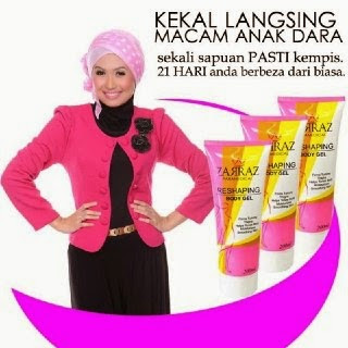 Reshaping Body Gel, Slimming Zarraz