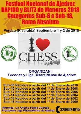 Festival Nacional de Ajedrez Rápido y Blitz Sub-8 a Sub-18 Ambas Ramas (Dar clic a la imagen)