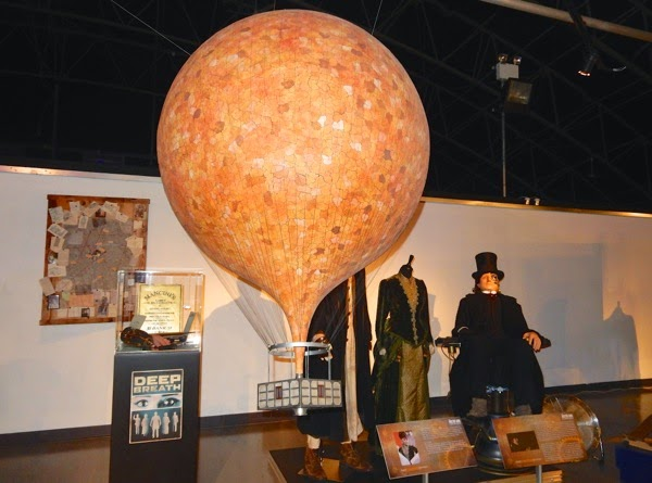 Hot air balloon model Doctor Who Deep Breath