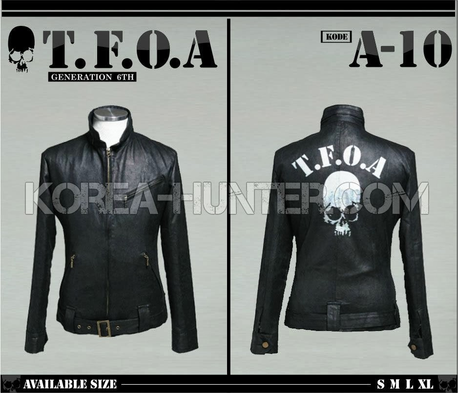 KOREA-HUNTER.com jual murah Jaket Kulit Crows Zero TFOA Generation 6th | kaos crows zero tfoa | kemeja national geographic | tas denim korean style blazer