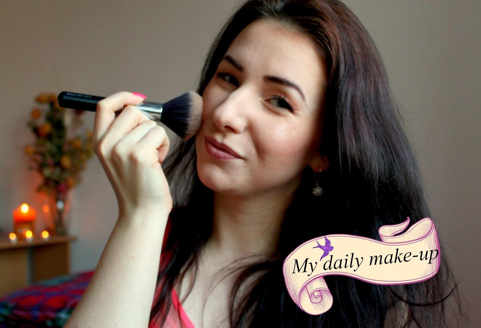 My daily make-up, alebo ako sa líčim (skoro) každý deň