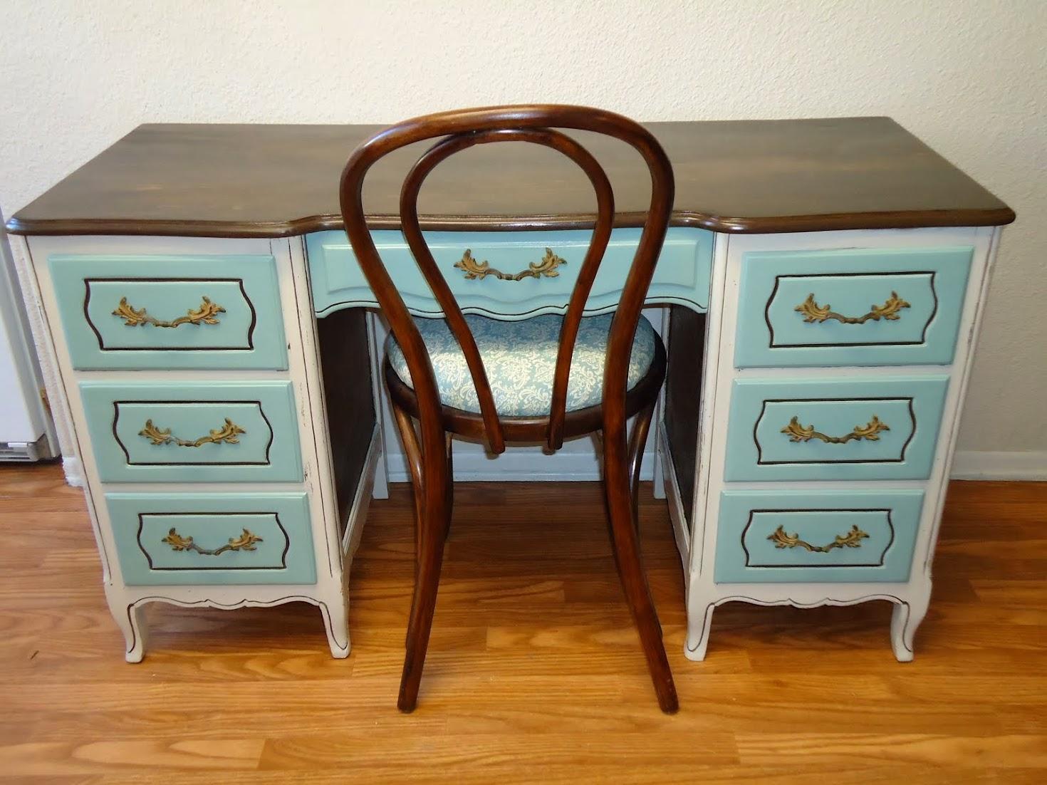 Refurbished Vintage Desk - SOLD