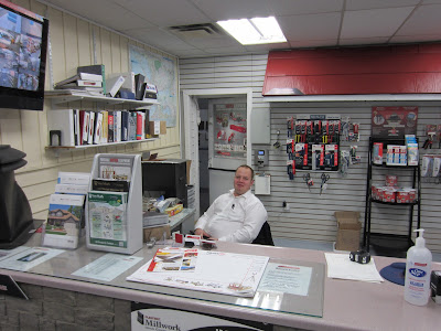 Buchner manufacturing showroom