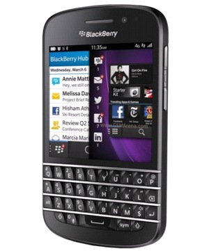 Blackberry Q10 Negro