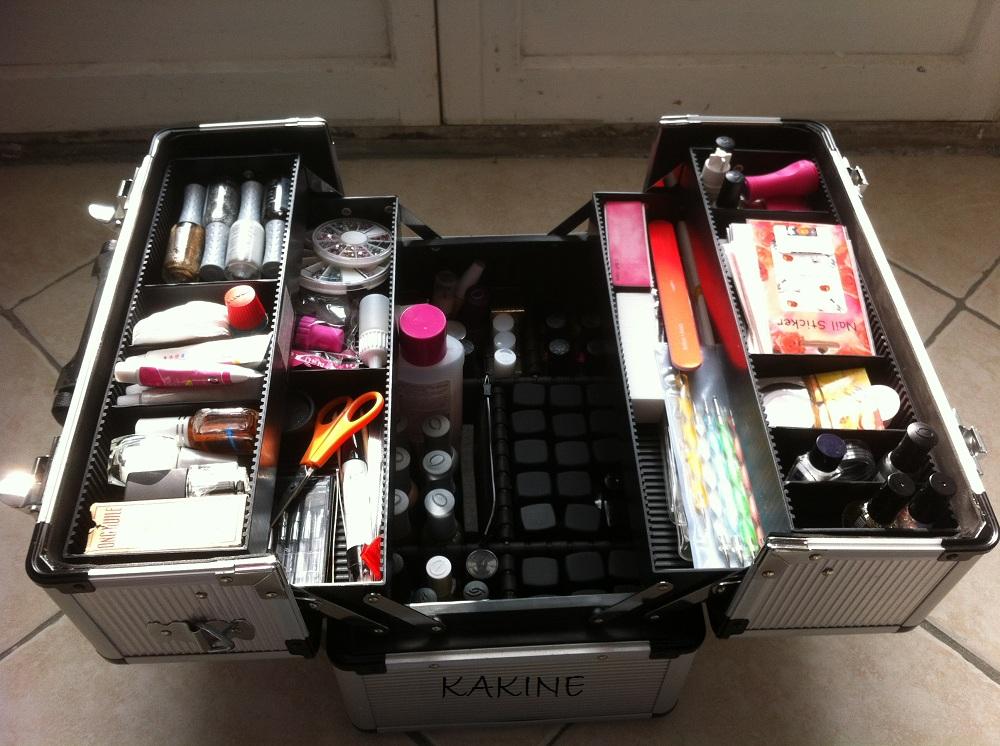 Ma mallette e cig complete forum ecigarette le repaire - Malette rangement maquillage ...