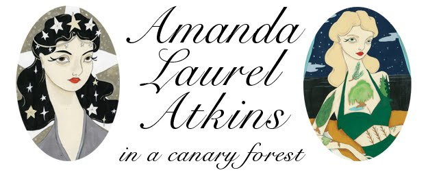 Amanda Atkins in a Canary Forest