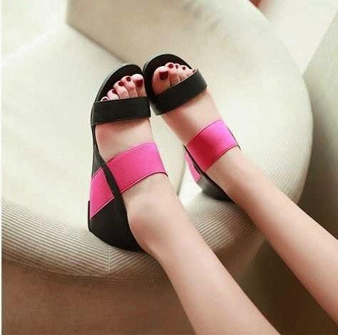 Sendal Cewek Sendal Cewek Sweet Pink 02