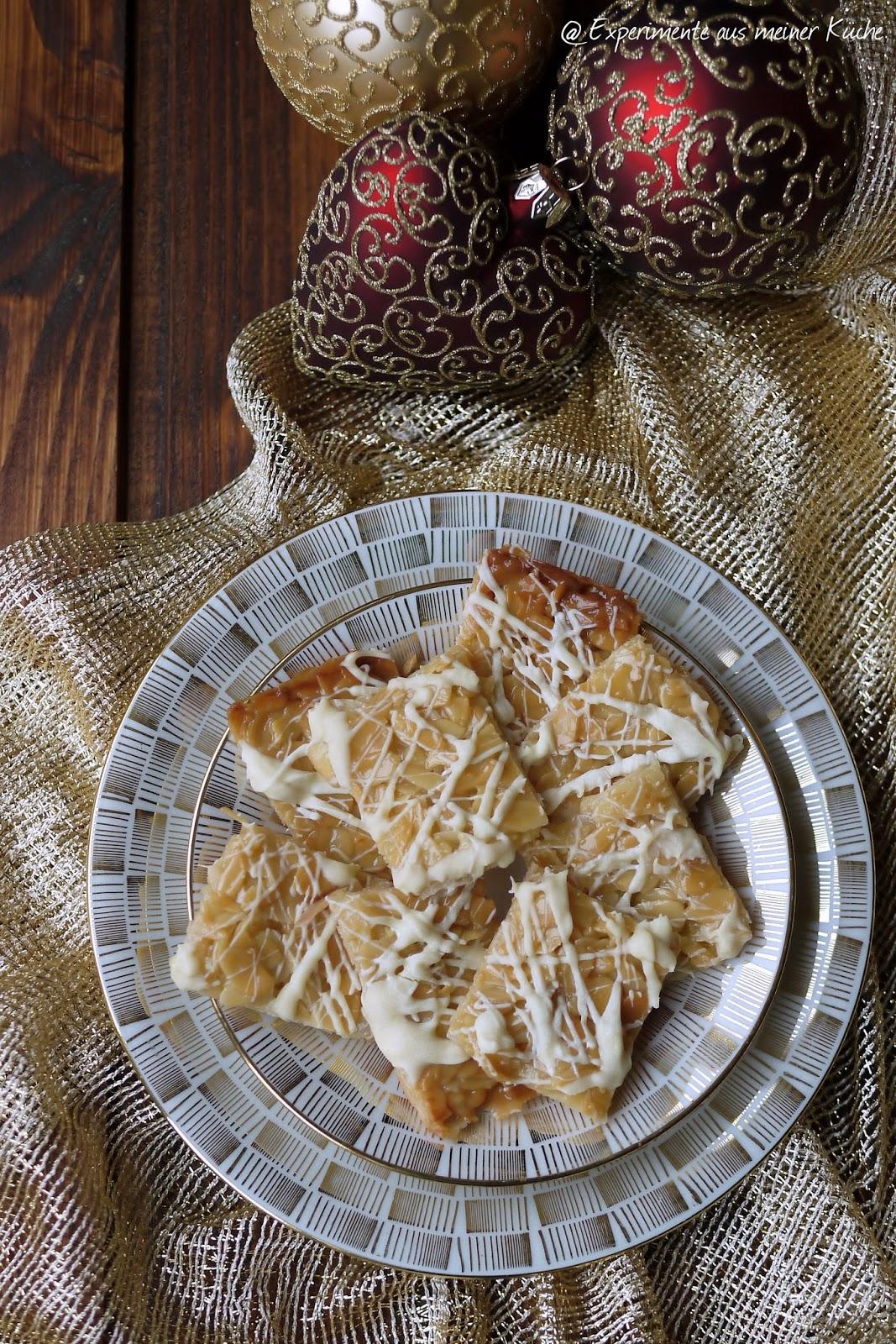Experimente aus meiner Küche: Weiße Florentiner