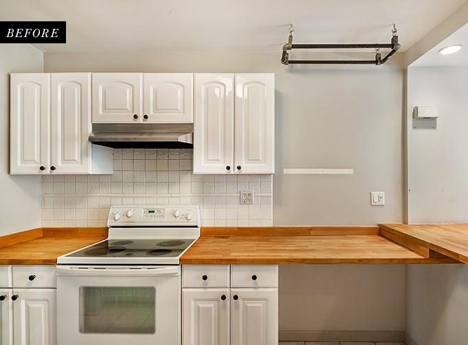 Antes y despu s de una cocina blanca o negra o las dos boho deco chic - Antalia cocinas ...