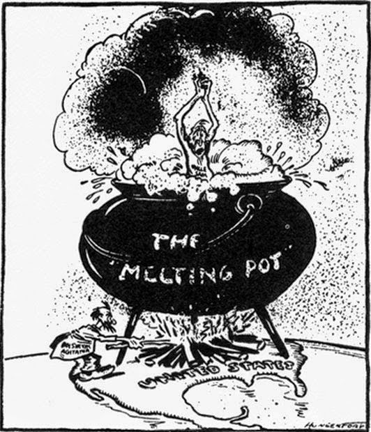 an analysis of the structure of the united states and the melting pot metaphor Zangwill was not the first person to use the melting-pot metaphor to envision the united states as a analysis of zangwill's in the melting-pot.