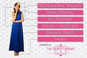 Christina Ng The Beauty Maker Advertisement Banner