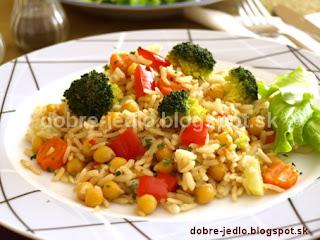 Cícerové rizoto s brokolicou - recepty