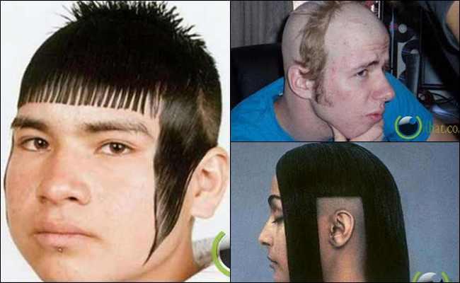 5 Potongan Rambut Kocak sekaligus Aneh