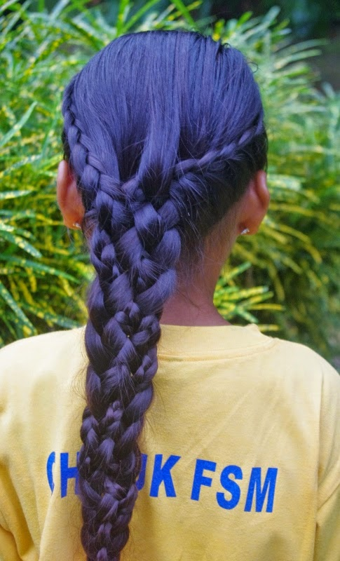Braids Hairstyles For Super Long Hair Micronesian Girl 2 Lace