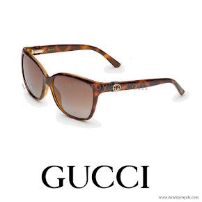Crown Princess Victoria Style GUCCI Havana Sunglasses