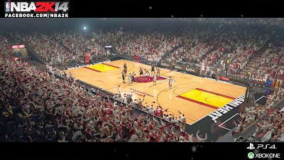 NBA 2K14 Next-Gen Court Arena