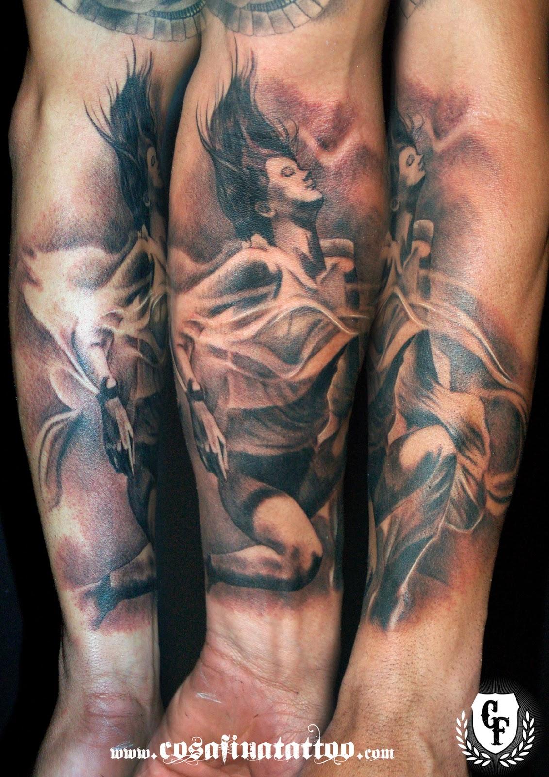 tatuajes mujer drogas