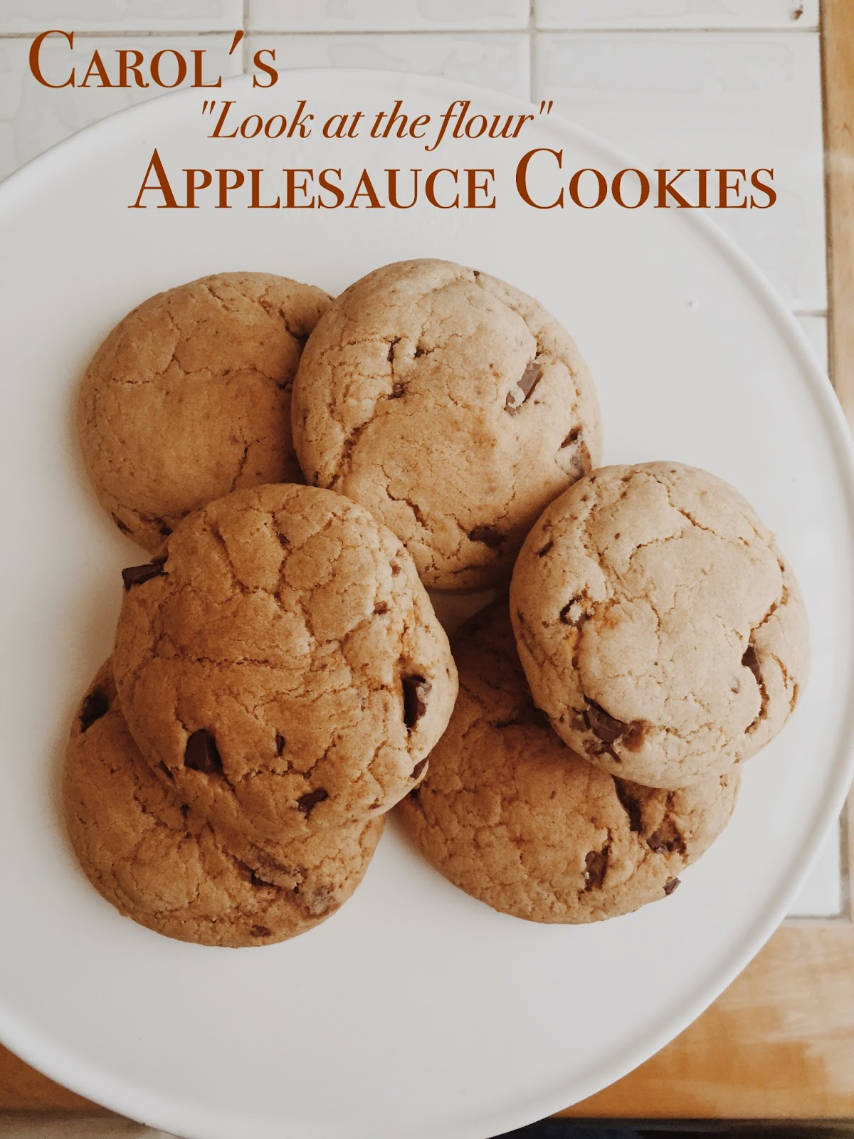 The Walking Dead's Carol's Applesauce Chocolate Cookies