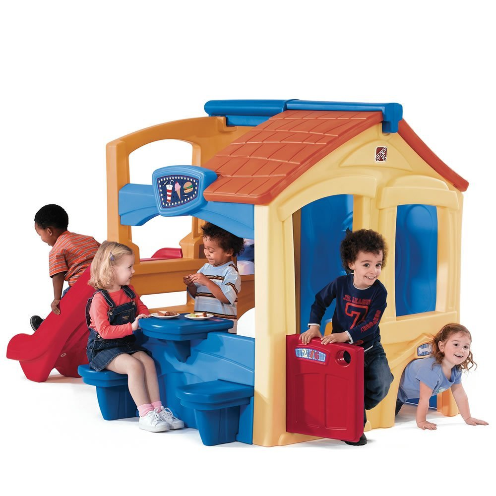 Unusual Outdoor Toys For Boys : Plastic indoor outdoor playsets playhouses for toddlers