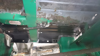 Mini 1275GT … more corrosion