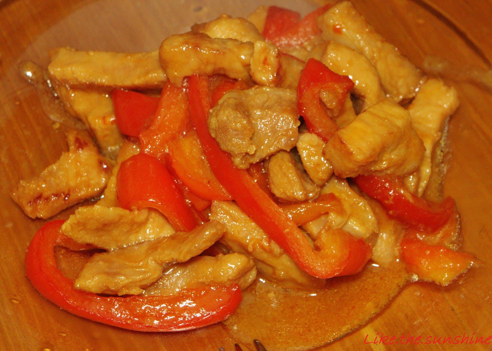 Свинина, запеченная в медово-горчичном маринаде