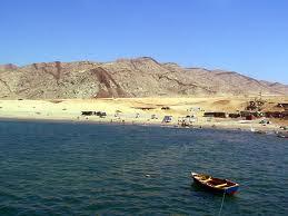 Una playa para el descanso y la tranquilidad