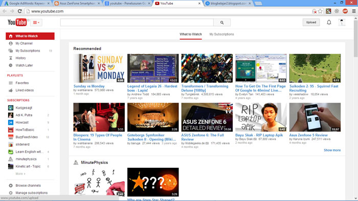 Cara Upload Video ke Youtube 2