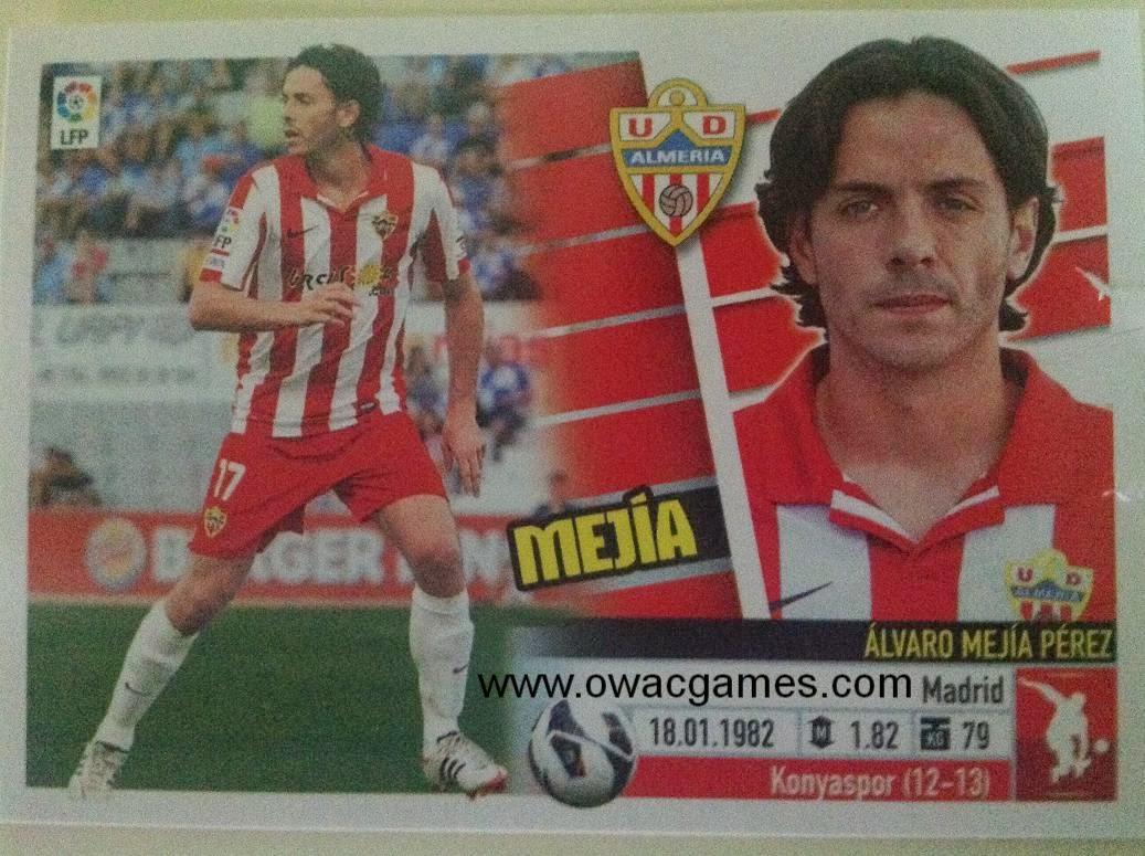 Liga ESTE 2013-14 Almeria 8 - Mejía