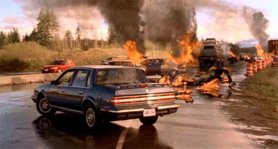 Final Destination Car Crash Scene