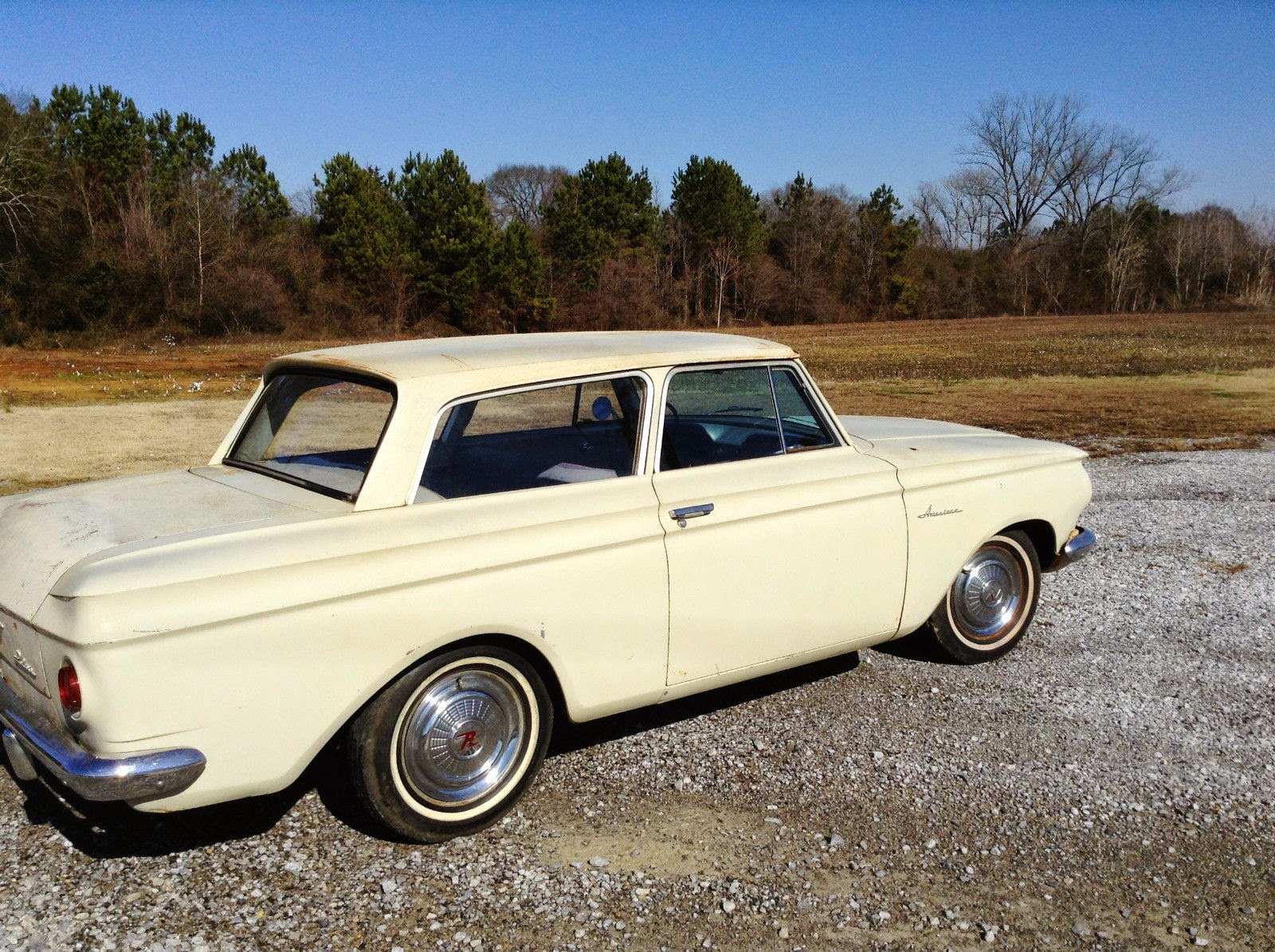 All American Classic Cars 1962 Rambler Deluxe 2 Door Sedan 1950 Motors Wiring Diagram