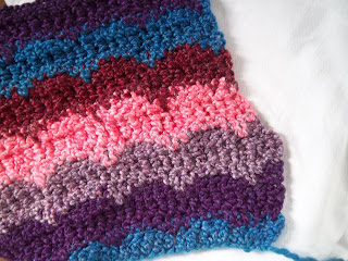 Pilgrim Purse ~ and Poetry: To Knit or Crochet?