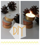 DIY: telys og washitape