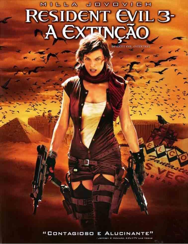 Resident Evil 3: A Extinção Torrent - BluRay 1080p Dual Áudio (2007)