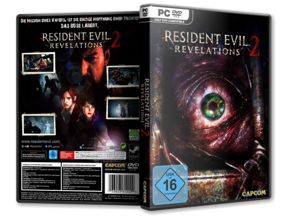 Capa Resident Evil Revelations 2 PC