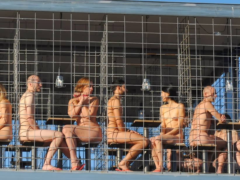 naked protest