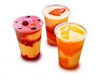 Receita de Smoothies natural morango