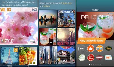 Instadaily, Aplikasi Foto Editing Untuk IOS