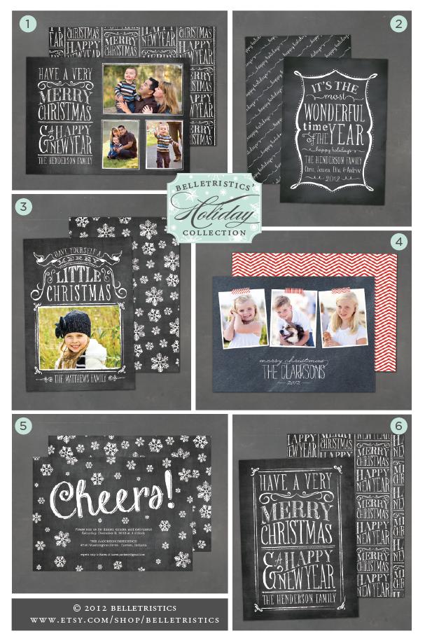 vintage chalkboard, christmas photo cards, chalkboard christmas card, chalkboard lettering, hand lettering, vintage christmas card