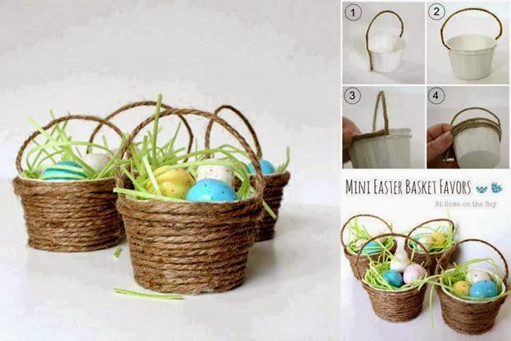 Mini Easter Basket Tutorial...