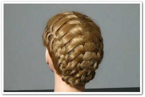 Тройная французская коса видеоурок