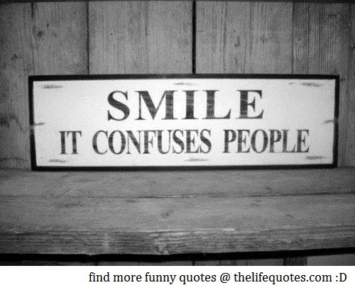 funny smile quotes