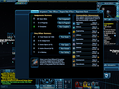 Star Trek Online - Duty Officers Overview