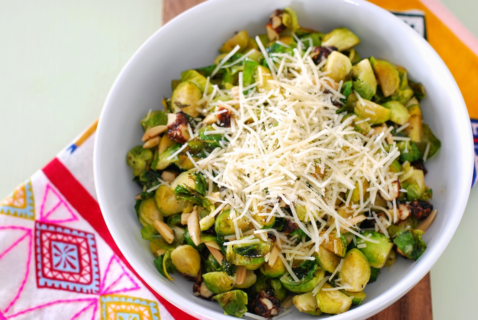Warm Brussels Sprouts Salad | Call Me Fudge