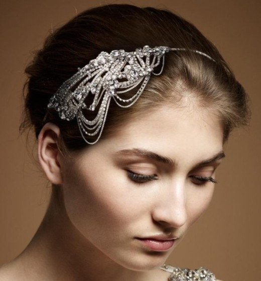 Bridal Hair Pieces- Courtesy of Jenny Packham