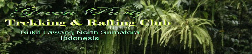Green Party 67 ( 7.DAYS SUMATERA LAND TOUR ) Bukit Lawang